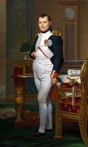 Napoleon, presumably with his penis