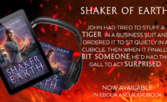 SHAKER OF EARTH is NOW AVAILABLE!