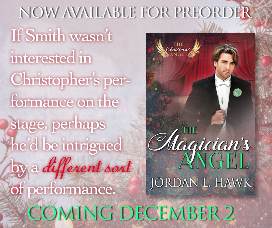 THE MAGICIAN\'S ANGEL Now Available for PREORDER – Jordan L. Hawk