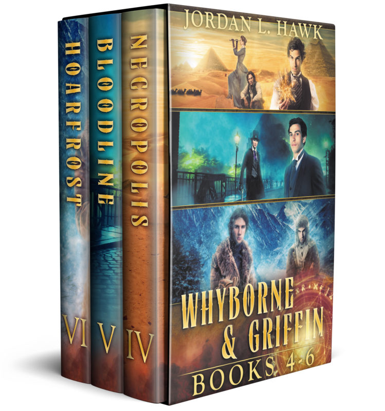 Whyborne and Griffin, Books 4-6
